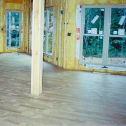 Wall Insulation, Windows, and Hardwood Floors