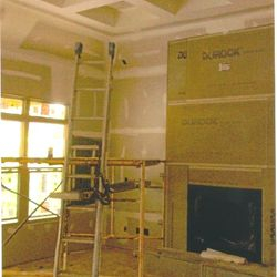 Drywall and Durock