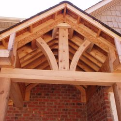 Custom Porch Beams
