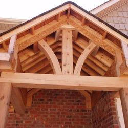 Custom Porch Beams