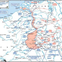 Nazis Over Run Northern France