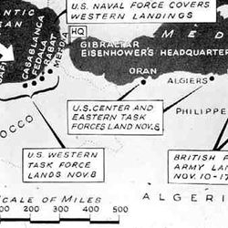 Operation Torch Landing Sites