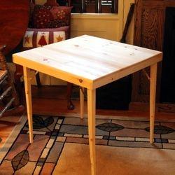 Pine Card Table