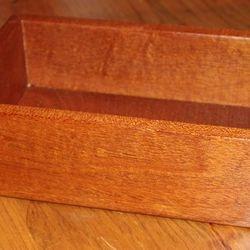 Mahogany Dresser Box