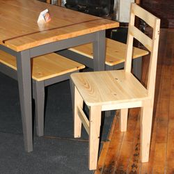 Pine harvest side chair