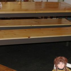 Pine Harvest table & benches