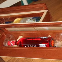 Wine Gift boxes with wine & glasses