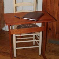 Adaptation of Shaker Writing Table in Mahogany