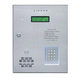 The Model AE1000Plus Commercial Telephone Entry System with Access Control - Four Doors is designed for use as a primary access control device for gated communities, parking garages, office buildings, apartments, dormitories, hotels/motels, commercial buildings and recreational facilities.