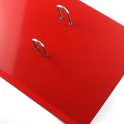 Flame Red Side Open Stand Product Code: SS2-12