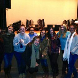Workshop with Musae, an awesome professional a cappella group
