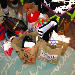 All the gifts from Sirens Secret Santa!