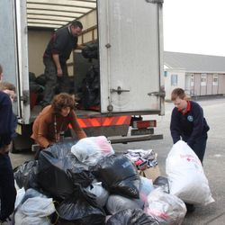 Clothes recycling drive