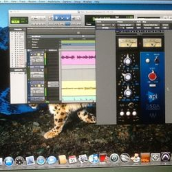 API channel strip Pro Tools software plug in ar Nashville Trax