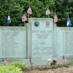 U.S. Army 111th Field Artillery Battalion & 29th Infantry Division Monument