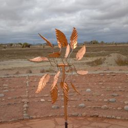 Copper Wind Sculpture in honor of Jack Phillips