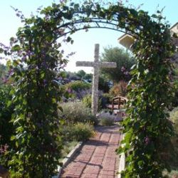 Wrought Iron Arbor in honor of Austin Peterson