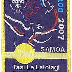 Samoa našitek  55x77