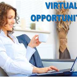 Our virtual opportunities allow you to work from home with a flexible schedule.