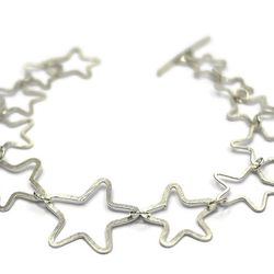 Hand made star bracelet - Unique hand made jewellery