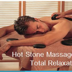 Hot Stone Massage as a therapy for Back Pain, should pain, muscle aches.