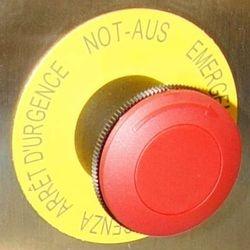 Noodstop knop