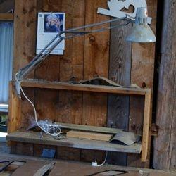 Skrivbordslampa tidigt 1970-tal.