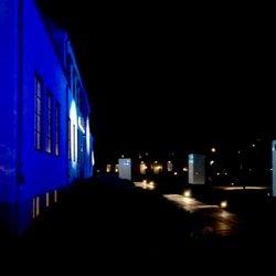 Kväll och programmering av ljuset.