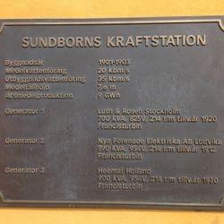 Carl Larsson sponsrade vattenkraftverket i Sundborn.