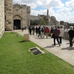 Jaffa Gate into Old City