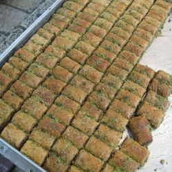 Honey-dripping Baklava - Yum!