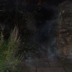 Ghostly fog caught where the white lady haunts!