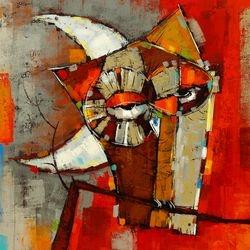 04 - Stefan Geissbuhler -  Acrylic Painting