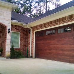 Classic Wood tone Garage Door