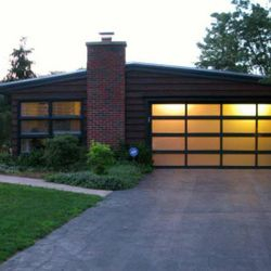 Modern View Garage Door