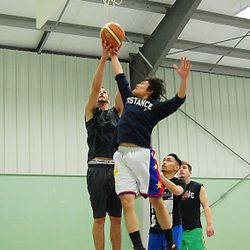Youth Drop-in Basketball at the Coombs Fairgrounds.