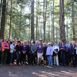 Sole Sisters Walking Group - 2017 Active Aging Week.