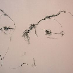 Franco Fusari, drawing on paper
