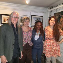 Loren Ellis with Tim Young, Catherine Green and Erika Pat.