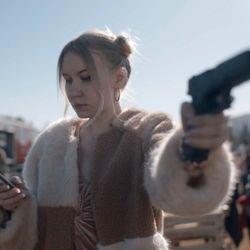 NATALLIA BULYINIA, actress - still from KILLING EVE 3