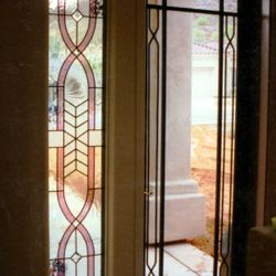 Custom Screen Door Inside View
