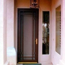 Custom Screen Door