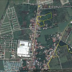 Google Map of Inosloban, Lipa city lot for sale