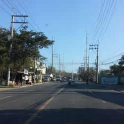 view of Diversion Road of Batangas City, also known as the Bypass to Bauan Highway, and the Port Diversion Road of Batangas City