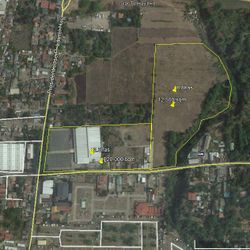 Lot plan of entire property for sale in Batangas City