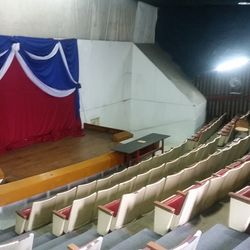 Vicmar Plaza, auditorium space for rent. located at P. Burgos St. Batangas City poblacion. call 043-984-3231