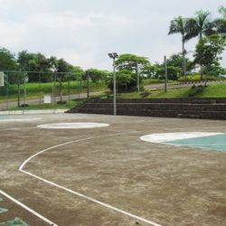 BasketBall court of Liesure Farms Amenities, in Lemery, Batangas