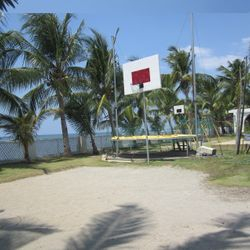 basketball court in Calatagan Batangas resort