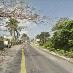 Streetview of the 11 hectare commercial property for sale in Batangas City.