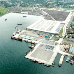 view of Batangas International Port